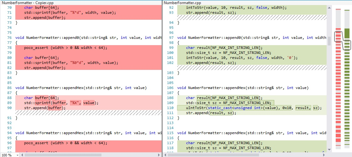 Advanced Code Diff with CppDepend from within Visual Studio